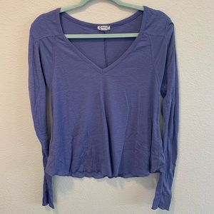 Free people thermal style top